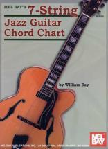 Bay William - 7-string Jazz Guitar Chord Chart - Guitar