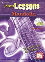 Bruce Dix - First Lessons Mandolin + Cd - Mandolin