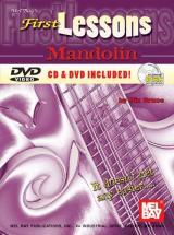 Bruce Dix - First Lessons Mandolin + Cd + Dvd - Mandolin
