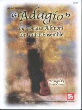 Albinoni Tomaso - Adagio For Guitar Ensemble - Guitar