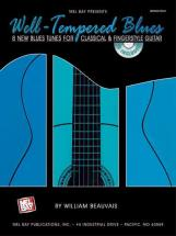 Beauvais William - Well-tempered Blues + Cd - Guitar