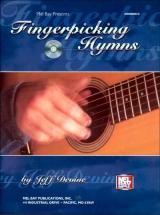 Devine Jeff - Fingerpicking Hymns + Cd - Guitar