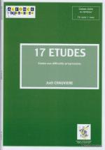 Chauviere J. - 17 Etudes - Caisse Claire (tambour)