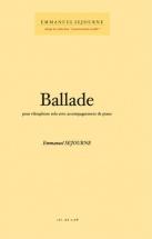 Sejourne Emmanuel - Ballade - Vibraphone Solo and Piano