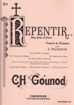 Gounod C. - Repentir - Chant & Piano
