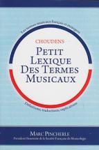 Pincherle M. - Petit Lexique Des Termes Musicaux