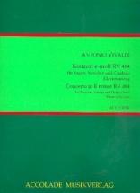 Vivaldi Antonio - Konzert E-moll Rv 484 - Basson and Piano