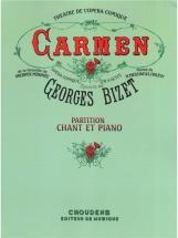Bizet - Carmen - Chant, Piano