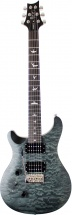 Prs - Paul Reed Smith Se Custom 24 Lh Satin Quilt Stealth Grey Black