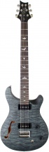 Prs - Paul Reed Smith Se 277 Semi-hollow Satin Quilt Stealth Grey Black