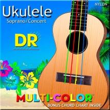 Dr Strings Umcsc Ukelele Multicolor Soprano/concert