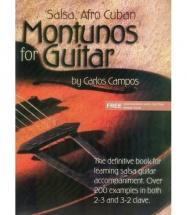 Campos Carlos - Salsa Afro Cuban Montunos For Guitar