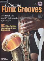 Tompsett B. - Ultimate Funk Grooves Tenor Sax & Bb + Cd