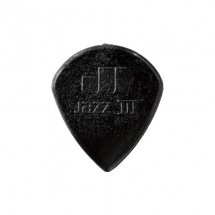 Dunlop Mediator Nylon Jazz Iii 1.38 Black Extremite Pointue