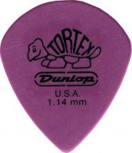 Dunlop Ultex Jazz Iii Xl 498p114 Pack 12 Mediators 1.14mm