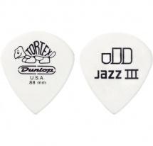 Dunlop Ultex Jazz Iii Xl 498p88 Pack 12 Mediators 0.88mm