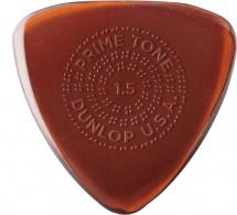 Dunlop Mediators Primetone Small Triangle Primetone Small Triangle Grip 1,5 Mm Sachet De 3