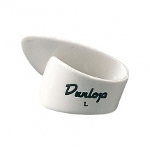 Dunlop Pouce Nylon 9003 Blanc Large