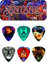 Dunlop Mediators Collector Carlos Santana Boite De 6, Medium