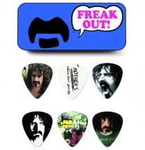 Dunlop Mediators Collector Frank Zappa Boite De 6, Medium