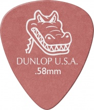 Dunlop 417r58 Gator Grip 0,58 Medium Rouge