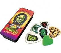 Dunlop Kh01t088 Boite En Metal De 6 Mediators Motif Metallica Kirk Hammet Monster Loose