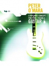 O'mara P. - A Rhythmic Concept For Funk/fusion Guitar + 2 Cd