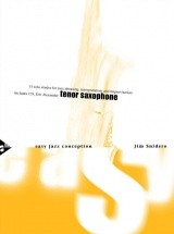 Snidero Jim - Easy Jazz Conception Sax Tenor + Cd