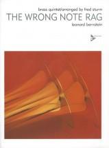 Bernstein L. - The Wrong Note Rag - Brass Quintet (2 Trumpets, French Horn, Trombone, Tuba)