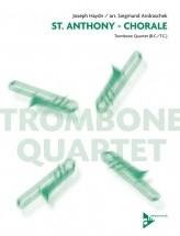 Haydn J. - St. Anthony - Chorale - 4 Trombones/tenor Horns