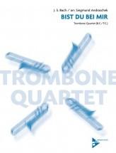 Bach J.s. - Bist Du Bei Mir - 4 Trombones/tenor Horns