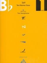 Curtis M. - Ten Klezmer Duos Vol. 1 - 2 Saxophones