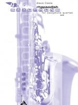 Ciesla A. - Rhapsodish - 4 Saxophones (satbar)