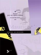 Ravel M. - Pavane Pour Une Infante Défunte - 4 Saxophones (satbar)