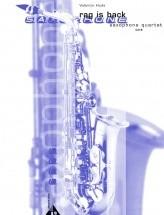 Hude V. - Rag Is Back - 4 Saxophones (satb)