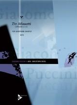 Puccini G. - Tre Minuetti - 4 Saxophones (satb)
