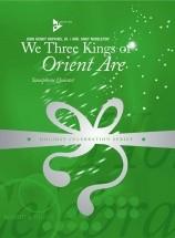 Hopkins J.h. - We Three Kings Of Orient Are - 5 Saxophones (sattbar)
