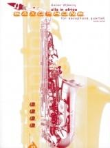 Wiberny H. - Ulla In Africa - 4 Saxophones (satbar/aatbar)