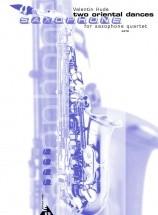 Hude V. - Two Oriental Dances - 4 Saxophones (satbar)