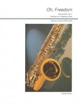 Graef F. - Oh, Freedom Part 1 - 4 Saxophones (satb/ Aatb)