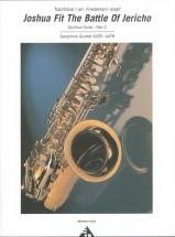 Graef F. - Joshua Fit The Battle Of Jericho Part 2 - 4 Saxophones (satb/aatb)