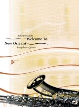 Hude V. - Welcome To New Orleans - 4 Saxophones (satbar)
