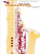 Monk T. - Blue Monk - 4 Saxophones (aatb/satb)