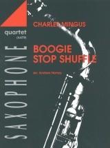 Homzy A. - Boogie Stop Shuffle - Saxophone Quartet (aatb) - 4 Saxophones