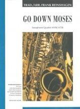 Go Down Moses - 4 Saxophones (aattb/attb)