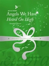 Perconti B. - Angels We Have Heard On High - 4 Saxophones (satb)