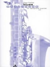 Fischer C. - Blues - 4 Saxophones (satb)
