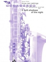 Ricker R. - Soft Shadows Of The Night - 4 Saxophones (satb)