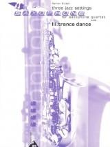Ricker R. - Three Jazz Settings - 4 Saxophones (satb)