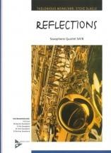 Monk T. - Reflections - 4 Saxophones (satb)
